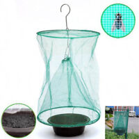 Foldable Ourdoor Fly Bug Cage Garden Insect Pest Net Catcher Trap Hanging Bags