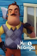 HELLO NEIGHBOR - AXE POSTER - 22x34 - VIDEO GAME 16239
