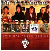 DR. FEELGOOD 5CD NEW Sneakin' Suspicion/Be Seeing You/Let It Roll/Case Of/On Job