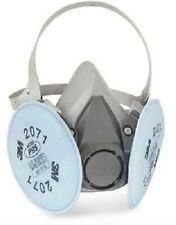 3M 6200 / 07025 Half Facepiece Reusable Respirator with 3M 2071 filters, MEDIUM