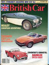 British Car Magazine October 1989 Healey Triumph EX 070916jhe