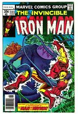 IRON MAN #111 (6/78)--NM- / Jack Of Hearts-app; Pollard-art; Pollard/Austin-cv^