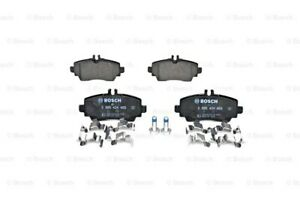 BOSCH Disc Brake Pads SET Front Rear Axle Fits MERCEDES Vaneo W168 1997-2005