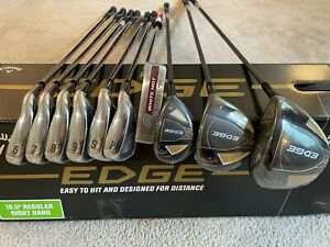 *NEW* 2021 Callaway Edge 10 Piece Golf Club Set / Right Handed / Regular Flex