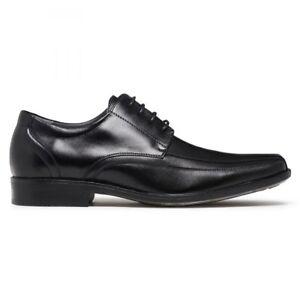 MENS BOYS SCHOOL LEATHER DRESS SHOES JULIUS MARLOW NUDGE BLACK FORMAL SHOE