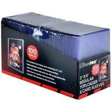Ultra Pro 35pt Toploaders & Sleeve 100 Count Pack