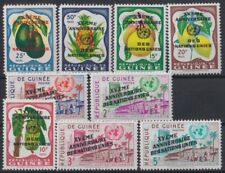 F-EX21862 GUINEE GUINEA MNH 1960 FRUIT FRUTAS XV ANIV UNITED NATION SURCHARGE OV