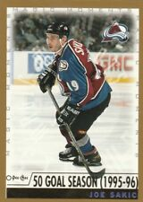 1999 2000 99/00 OPC...MM MAGIC MOMENTS...#285 JOE SAKIC...50 GOAL SEASON