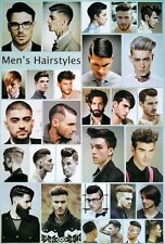 "Men's Hairstyles POSTER 23""x34"" for Barber Salon Hairdresser 29 Models FreeShip"