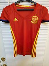 Adidas WOMEN'S Size XS SPAIN NATIONAL FOOTBALL SOCCER TEAM JERSEY SHIRT