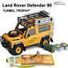 """""""Camel Trophy"""" Land Rover Defender 90 Diecast Model Car 1/18 By ALMOST REAL"""