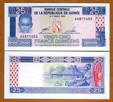 Guinea / Africa, 25 Francs, 1985, P-28, UNC > Child
