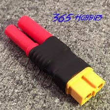 Male Hxt 4.0 mm to Female XT60 Connector Adapter Lipo 4mm 4.0mm 4 Bullet LiPo