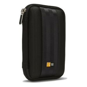 """Case Logic Small Portable Carrying Case Storage for 2.5"""" Hard Disk Drive Black"""