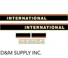 Tractor Decal set to fit International 484