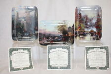 Set of 3 Postcards From Thomas Kinkade Porcelain Collectors Plates