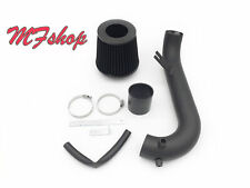 Coated Black For 2001-2005 Honda Civic 1.7L L4 Air Intake System Kit + Filter