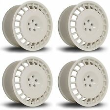 4 x Rota D154 White Alloy Wheels - 16x8"