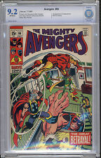 Avengers #66 CBCS NM- 9.2 Captain America Thor Iron Man