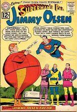 Superman'S Pal Jimmy Olsen #59 Very Good, Loose cover, Dc Comics 1962