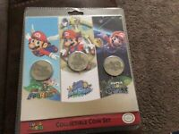 Official Nintendo - Super Mario 3D All Stars Collectible Coin Set (3) Brand New