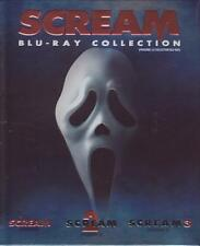 BLURAY - THE SCREAM COLLECTION - 1 2 3 - Drew Barrymore Neve Campbell Brand New!