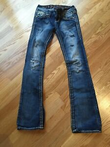 Rock Revival Women's Jeans Size 25 Codee Boot
