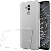 Transparent Cover für Huawei Mate 20 lite Tasche Silikon Ultra-slim Handytasche