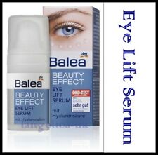 Balea Beauty Effect Eye-Lift Serum 15 ml with Hyaluronic Acid for Daily Use