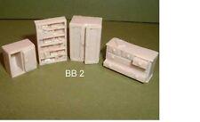 II Guerra Mundial armarios,cómoda con cajones,LIBRO Estantería - Kit de resina -