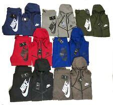 Nike Tech Sweat Suit Fleece Hoodie & Joggers Tracksuit Brand New Free Shipping