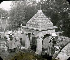 MONTERBLANC 1909 - La Fontaine - Bretagne Positif Verre 10 x 8 - 41