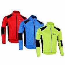 Mens Cycling Jacket Winter Thermal Fleece Windproof windstopper Jackets