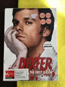 Dexter DVD Movie Season 1 Multi Disc Region 4