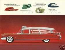 1959 Cadillac EUREKA AMBULANCE Ad, Refrigerator Magnet, Red/White, 40 MIL
