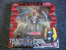 SUPERION REVENGE OF THE FALLEN TARGET ROTF MISB EXCLUSIVE ORIGINAL TRANSFORMER!
