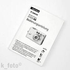 Canon Digital Ixus V2 Bedienungsanleitung * manual