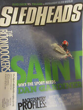 Sled Heads MagazineJanuary 2013 Sled Deck Vs Trailer Burandt Sled Build Boondock