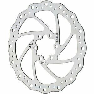 TEKTRO Wave Brake Disc 6 5/16in 160-1 Disc 6-Loch Magura Shimano Bicycle Sram