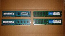 8GB (4 X 2GB) DDR3 1600MHz Desktop Memory Hynix Crucial