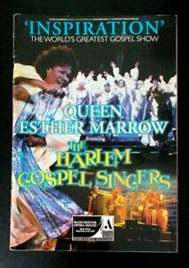Queen Esther Marrow Harlem Gospel Singers programme Manchester Opera House 1998