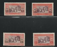 Senegal  (1922)  - Scott # 127 - 130,