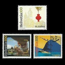 Switzerland 2014 - Cities of Switzerland - Sc 1524/6 MNH