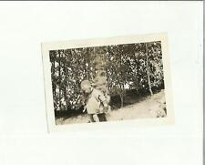 137021 FOTOGRAFIA FOTO ORIGINALE bimba bambina in canton ticino 1932 castagnola