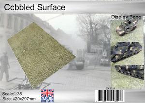 Coastal Kits 1:35 Scale Cobbled Surface Display Bases
