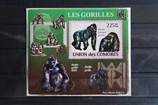 Affen 19 monkeys Singes Gorilla Tiere animals wildlife Fauna postfrisch ** MNH