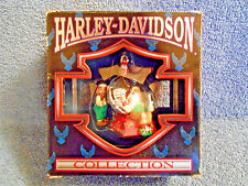 1997 CAVANAGH HARLEY DAVIDSON HORN TESTING AREA CHRISTMAS ORNAMENT IN BOX - NICE