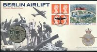 GB QEII ROYAL MAIL / MINT PNC COIN COVER 1999 BERLIN AIRLIFT  MEDAL