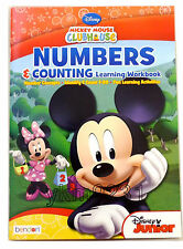 2014 Disney Mickey Mouse Clubhouse Numbers & Counting Learning Workbook Pre-K 3+