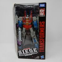 Transformers Siege Starscream Brand New Sealed War For Cybertron WFC
